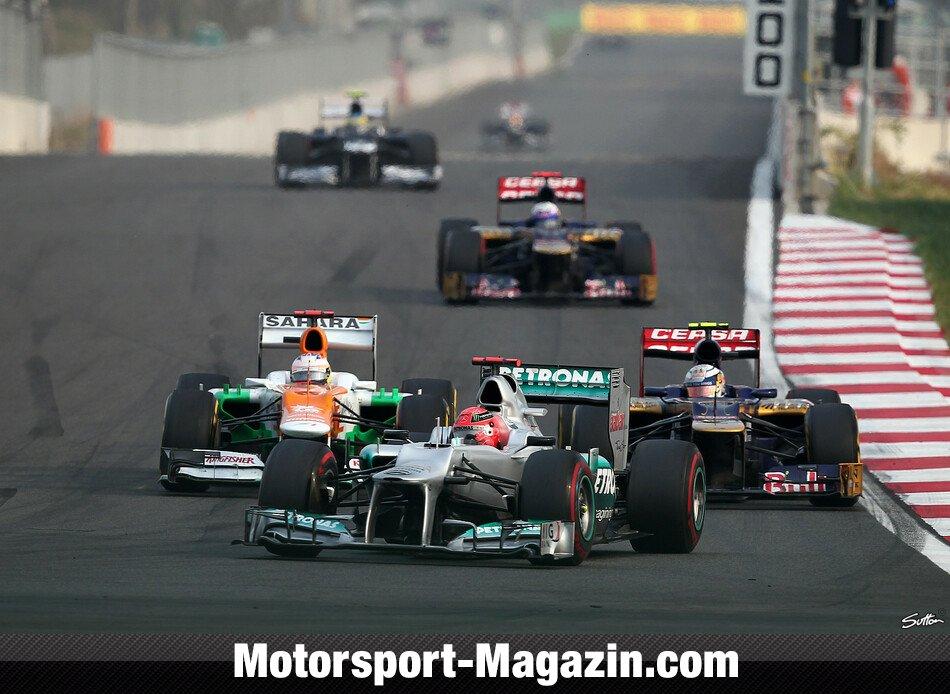 Formel 1 2012, Verschiedenes, Michael Schumacher, Mercedes-AMG, Bild: Sutton