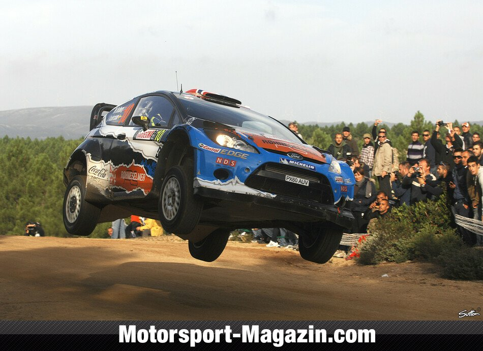 WRC 2012, Rallye Italien, Olbia, Mads �stberg, Adapta World Rally Team, Bild: Sutton