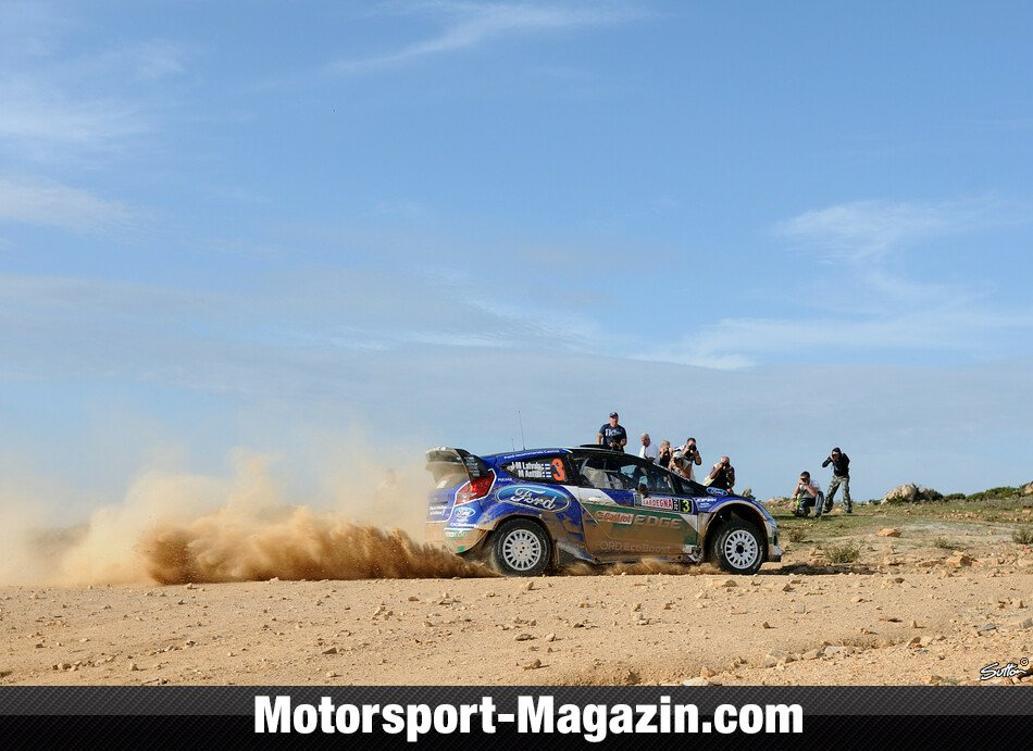 WRC 2012, Rallye Italien, Alghero, Jari-Matti Latvala, Ford World Rally Team, Bild: Sutton