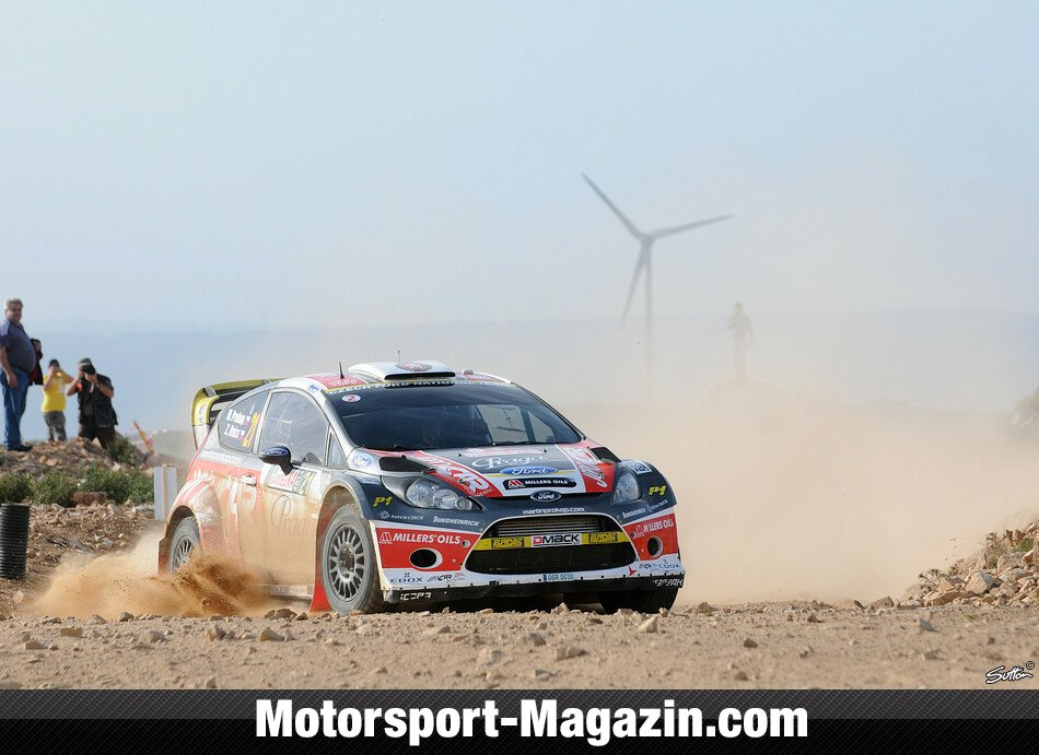 WRC 2012, Rallye Italien, Alghero, Martin Prokop, Czech Ford National Team, Bild: Sutton