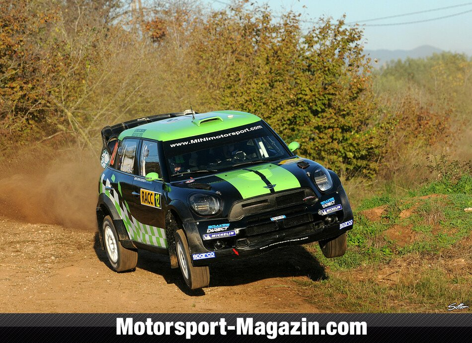 WRC 2012, Rallye Katalonien, Salou, Chris Atkinson, WRC Team Mini Portugal, Bild: Sutton