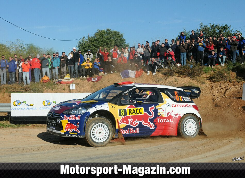 WRC 2012, Rallye Katalonien, Salou, Thierry Neuville, Citroën Junior World Rally Team, Bild: Sutton