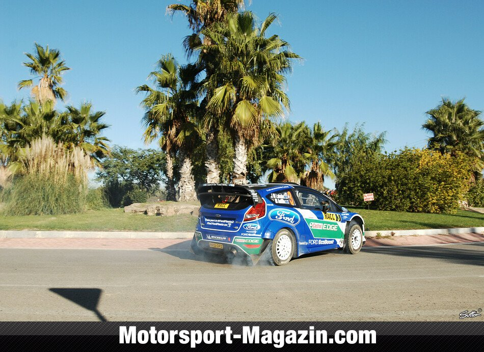 WRC 2012, Rallye Katalonien, Salou, Jari-Matti Latvala, Ford World Rally Team, Bild: Sutton