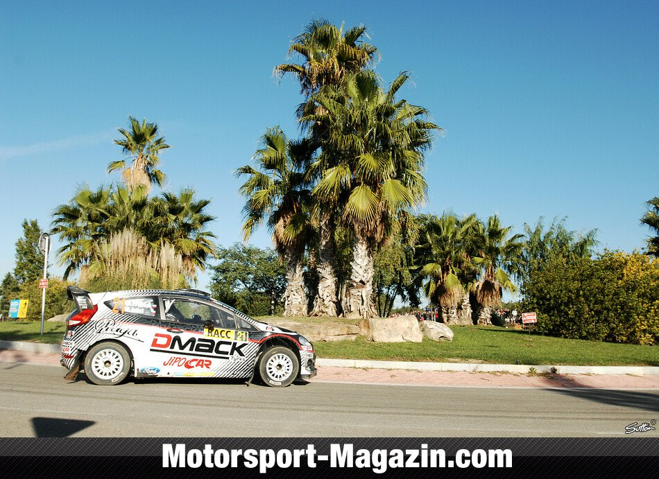 WRC 2012, Rallye Katalonien, Salou, Martin Prokop, Czech Ford National Team, Bild: Sutton