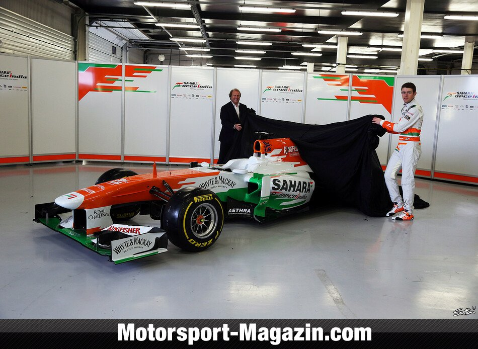 Formel 1 2013, Pr�sentationen, Paul Di Resta, Force India, Bild: Sutton