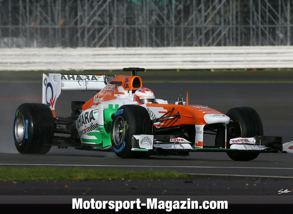 Formel 1 2013, Präsentationen, Paul Di Resta, Force India, Bild: Sutton