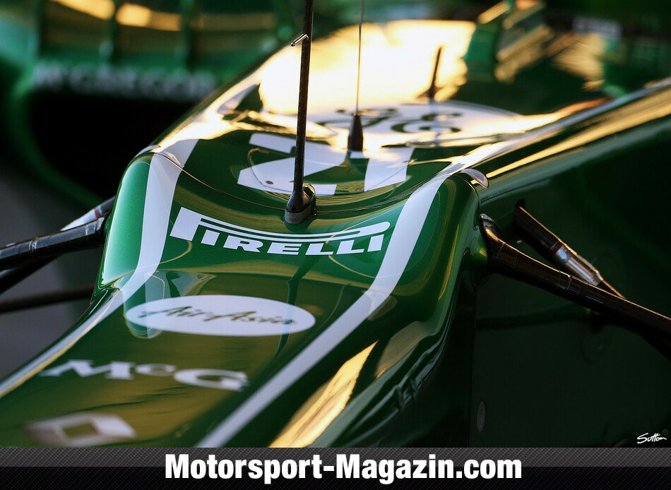Formel 1 2013, Pr�sentationen, Caterham F1 Team, Bild: Sutton
