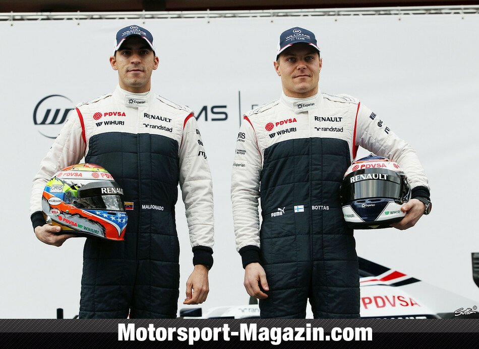 Formel 1 2013, Präsentationen, Pastor Maldonado, Williams, Bild: Sutton