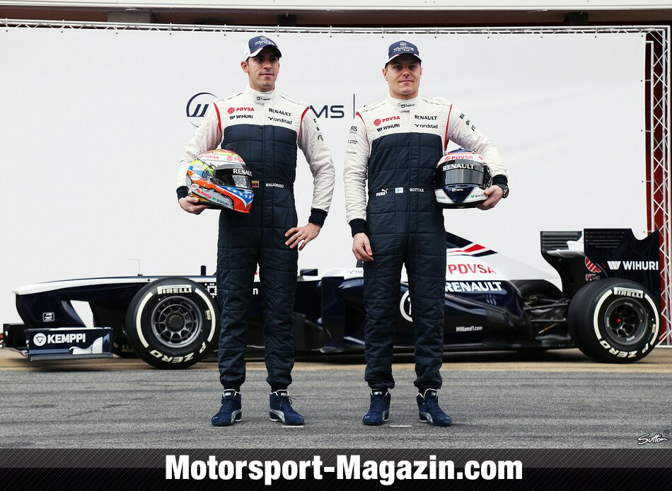 Formel 1 2013, Testfahrten, Barcelona I, Barcelona, Valtteri Bottas, Williams, Bild: Sutton