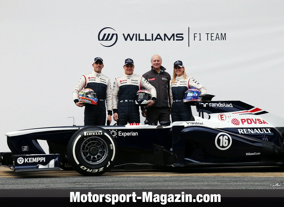 Formel 1 2013, Pr�sentationen, Valtteri Bottas, Williams, Bild: Sutton