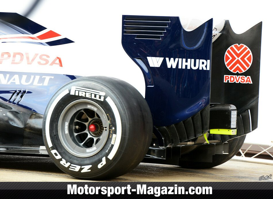 Formel 1 2013, Testfahrten, Barcelona I, Barcelona, Williams, Bild: Sutton