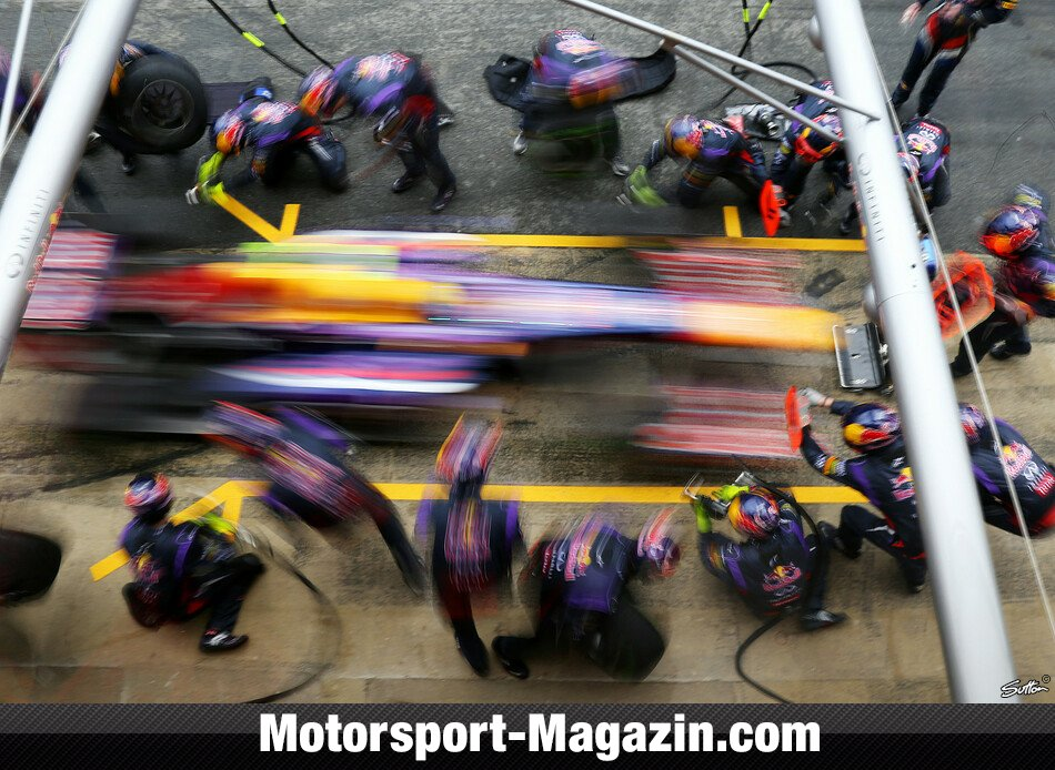 Formel 1 2013, Testfahrten, Mark Webber, Red Bull Racing, Bild: Sutton