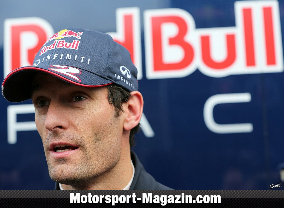 Formel 1 2013, Testfahrten, Barcelona II, Barcelona, Mark Webber, Red Bull Racing, Bild: Sutton