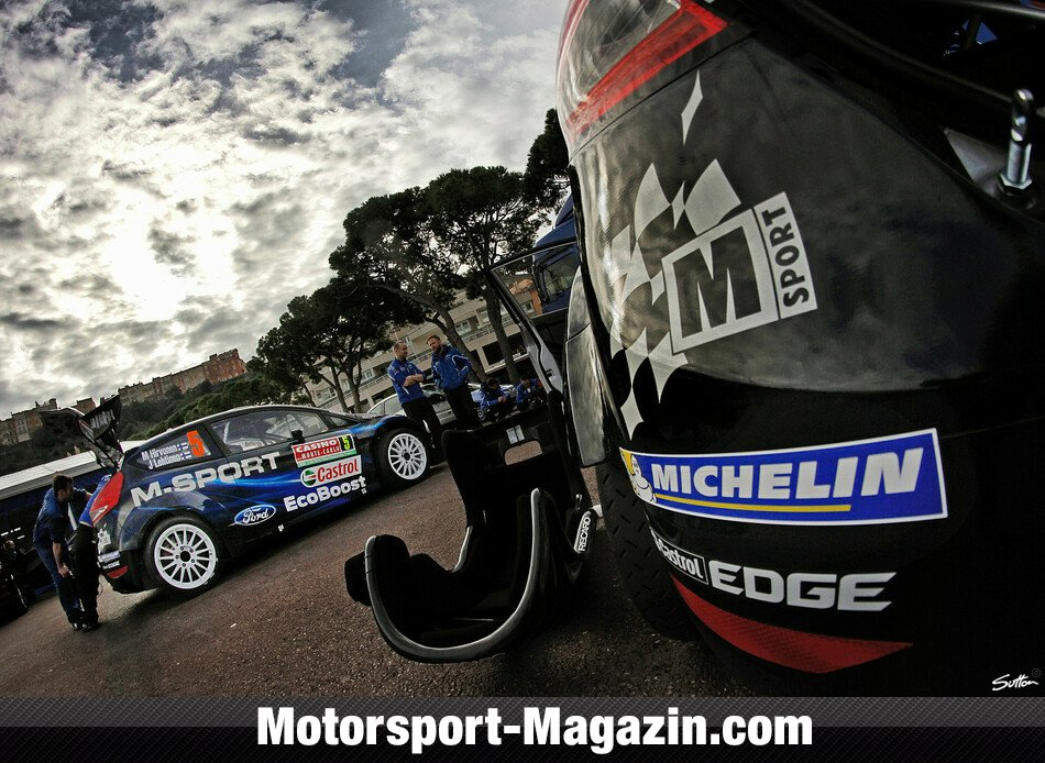 WRC 2014, Rallye Monte Carlo, Monte Carlo, M-Sport Ford World Rally Team, Bild: Sutton
