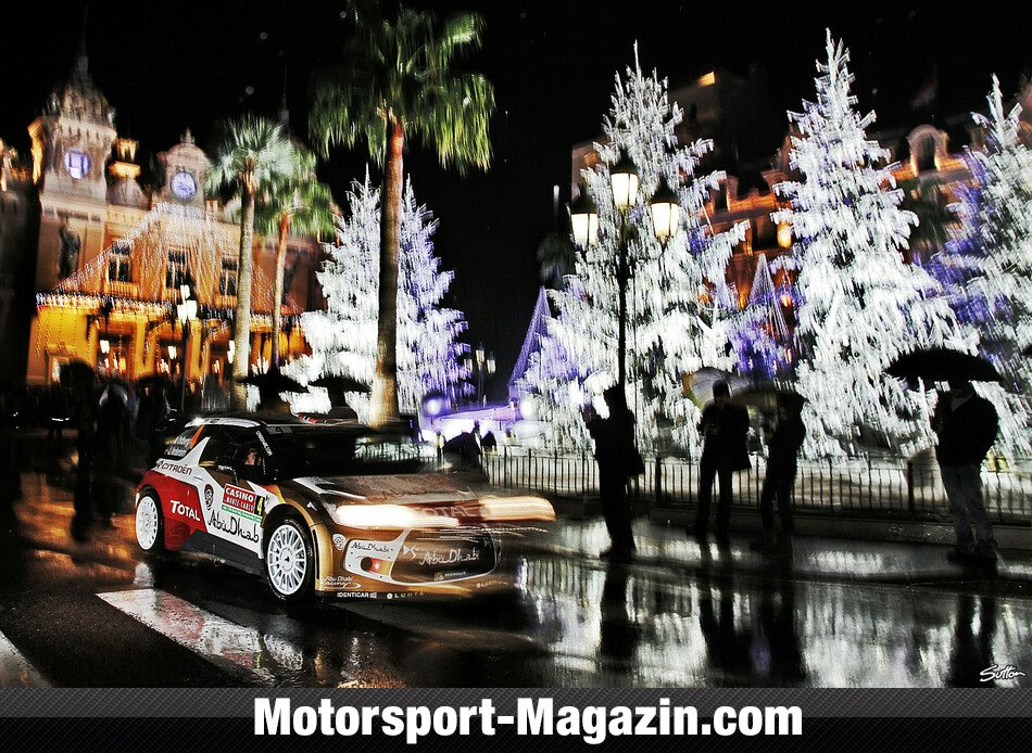 WRC 2014, Rallye Monte Carlo, Monte Carlo, Citroen World Rally Team, Bild: Sutton