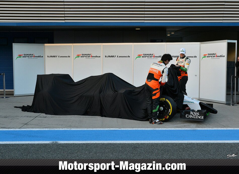Formel 1 2014, Pr�sentationen, Nico H�lkenberg, Force India, Bild: Sutton