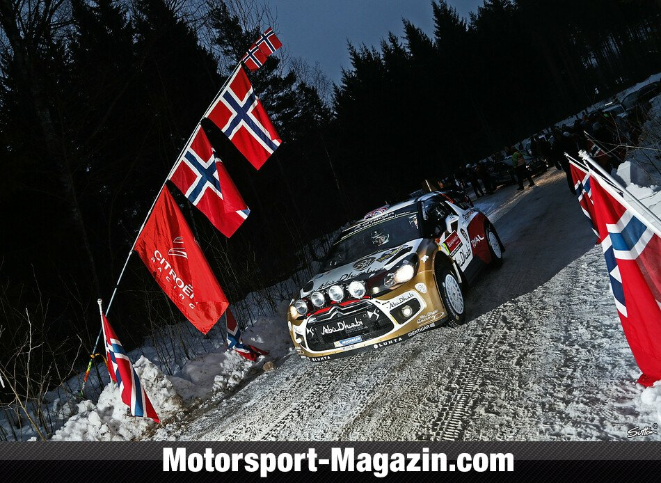 WRC 2014, Rallye Schweden, Torsby, Kris Meeke, Citroen World Rally Team, Bild: Sutton