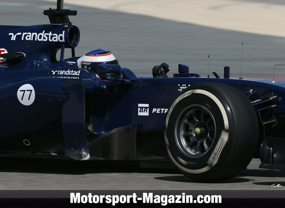 Formel 1 2014, Testfahrten, Valtteri Bottas, Williams, Bild: Sutton