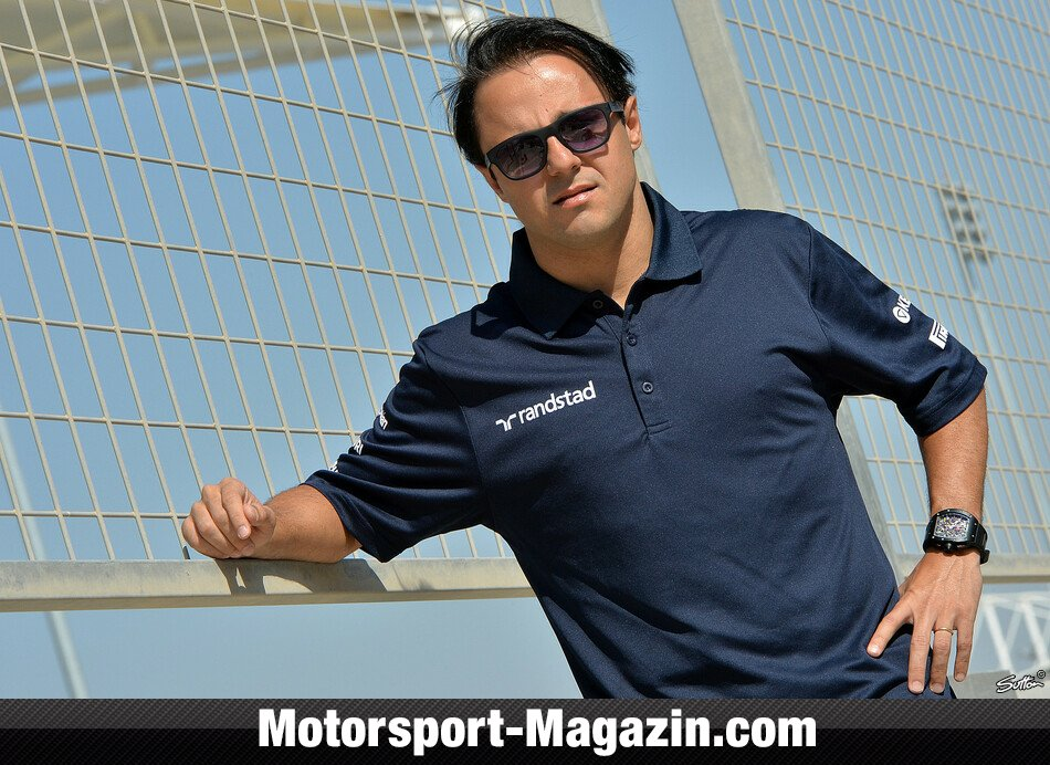 Formel 1 2014, Testfahrten, Bahrain I, Sakhir, Felipe Massa, Williams, Bild: Sutton