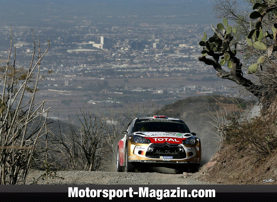 WRC 2014, Rallye Mexiko, Leon-Guanajuato, Mads �stberg, Citroen World Rally Team, Bild: Sutton