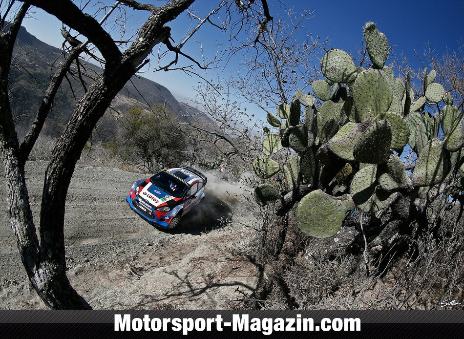 WRC 2014, Rallye Mexiko, Leon-Guanajuato, Robert Kubica, RK M-Sport World Rally Team, Bild: Sutton