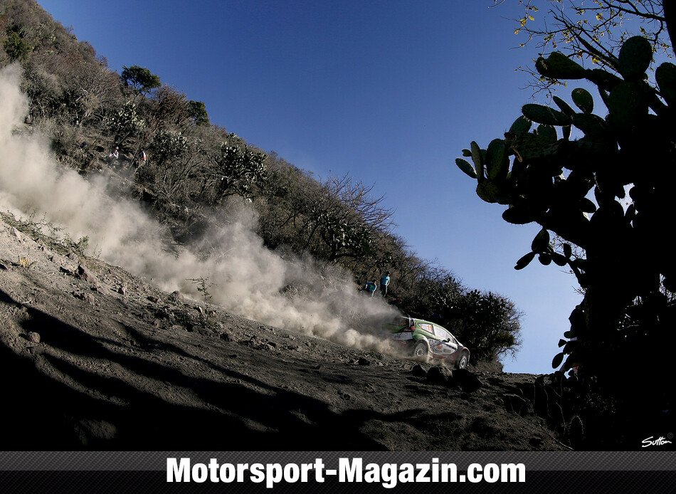 WRC 2014, Rallye Mexiko, Leon-Guanajuato, Benito Guerra, M-Sport Ford World Rally Team, Bild: Sutton