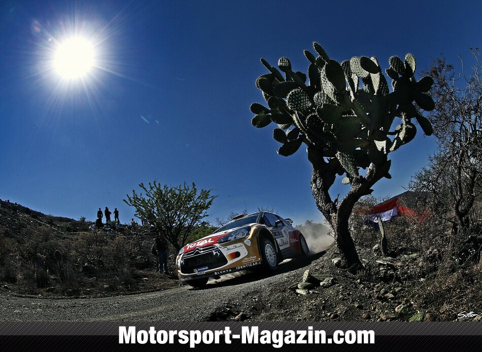 WRC 2014, Rallye Mexiko, Leon-Guanajuato, Mads Östberg, Citroen World Rally Team, Bild: Sutton