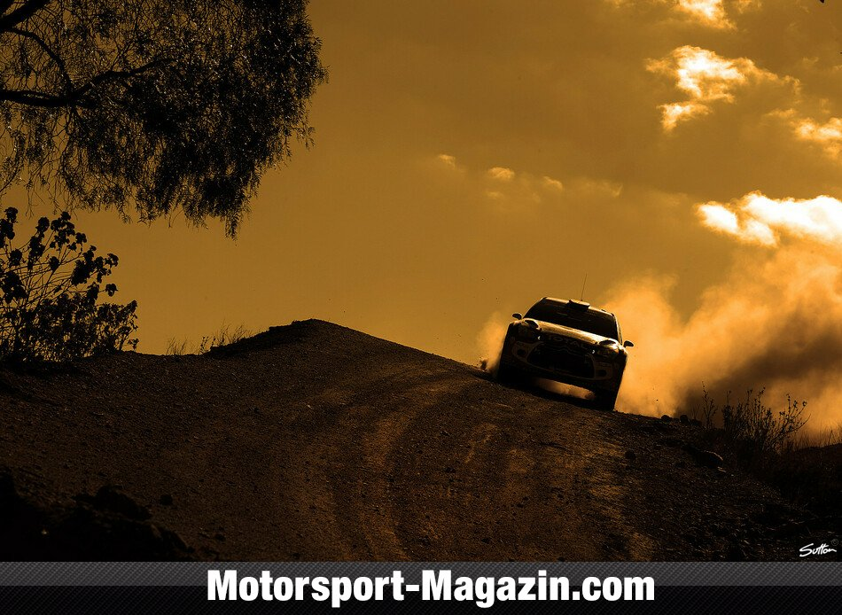 WRC 2014, Rallye Mexiko, Leon-Guanajuato, Kris Meeke, Citroen World Rally Team, Bild: Sutton
