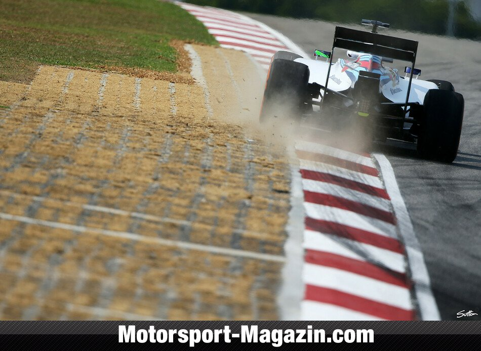 Formel 1 2014, Malaysia GP, Sepang, Felipe Massa, Williams, Bild: Sutton