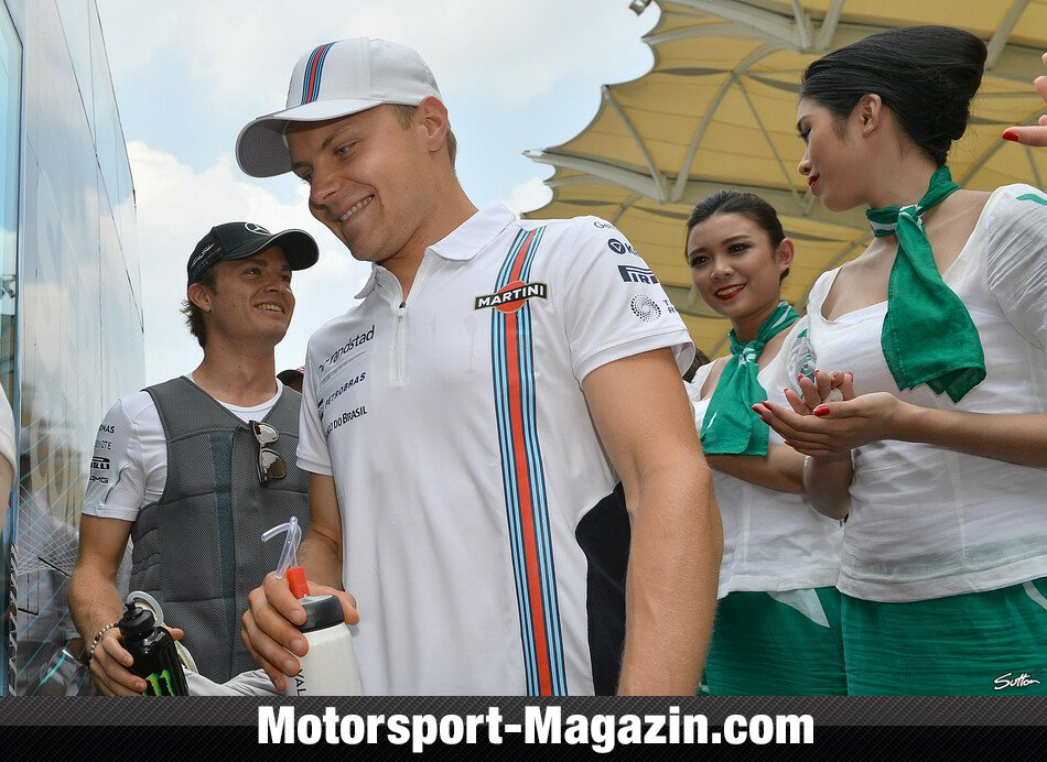 Formel 1 2014, Malaysia GP, Sepang, Valtteri Bottas, Williams, Bild: Sutton