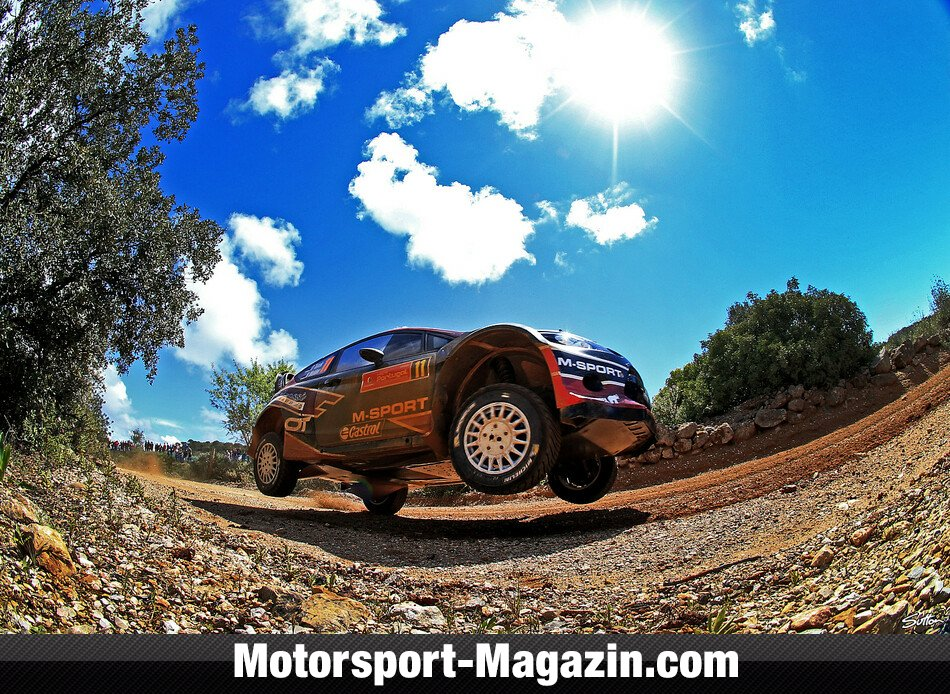 WRC 2014, Rallye Portugal, Matosinhos, Ott Tänak, Qatar M-Sport World Rally Team , Bild: Sutton