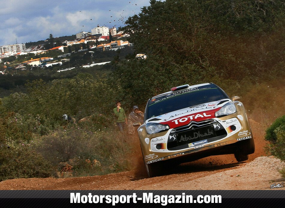 WRC 2014, Rallye Portugal, Matosinhos, Khalid Al Qassimi, Abu Dhabi Citroen Total World Rally Team, Bild: Sutton