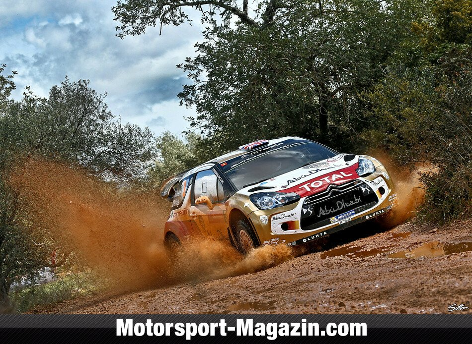 WRC 2014, Rallye Portugal, Matosinhos, Kris Meeke, Citroen World Rally Team, Bild: Sutton