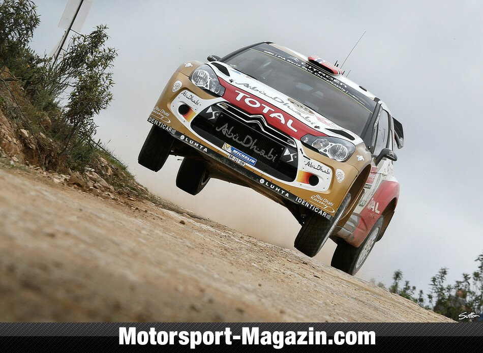 WRC 2014, Rallye Portugal, Matosinhos, Mads �stberg, Citroen World Rally Team, Bild: Sutton