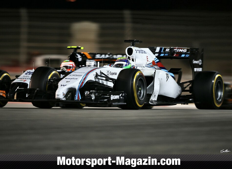 Formel 1 2014, Bahrain GP, Sakhir, Felipe Massa, Williams, Bild: Sutton