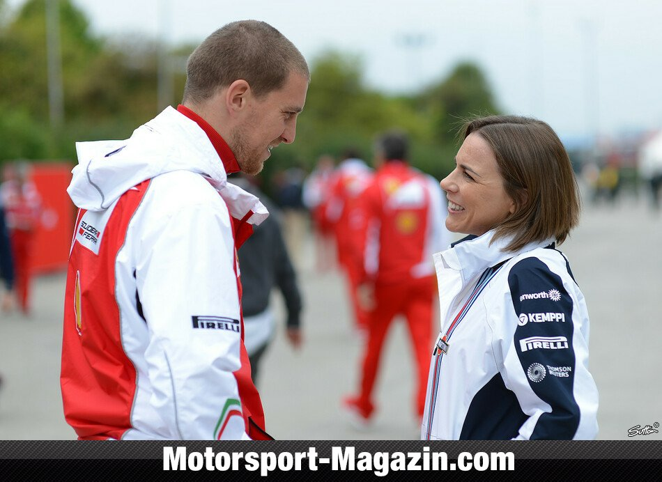 Formel 1 2014, China GP, Shanghai, Williams, Bild: Sutton
