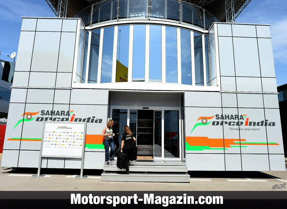 Formel 1 2014, Spanien GP, Barcelona, Force India, Bild: Sutton