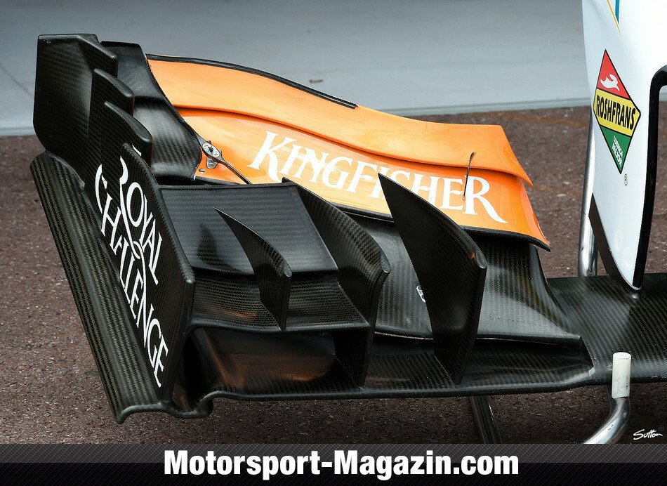 Formel 1 2014, Monaco GP, Monaco, Force India, Bild: Sutton