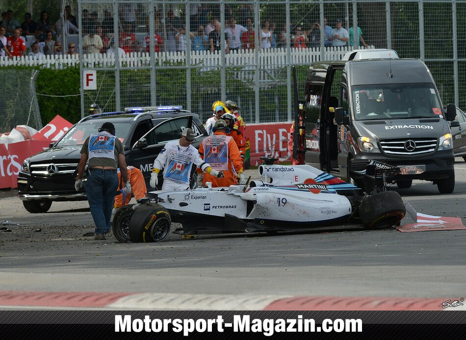 Formel 1 2014, Kanada GP, Montreal, Felipe Massa, Williams, Bild: Sutton