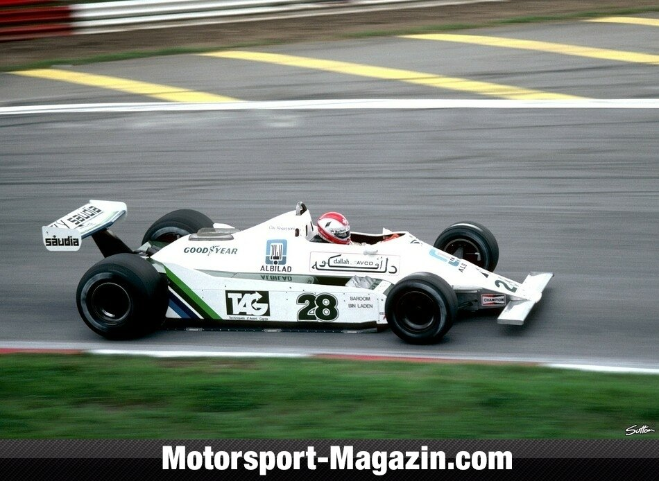 Formel 1 1979, Williams, Bild: Sutton