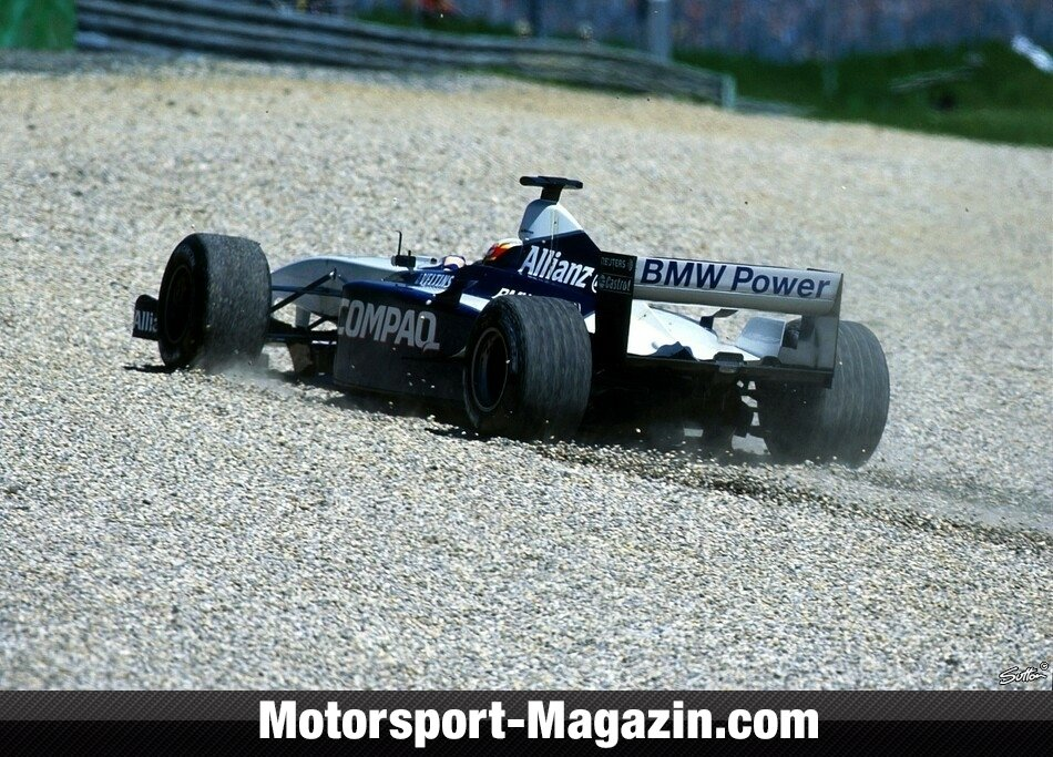 Formel 1 2001, Juan Pablo Montoya, Williams, Bild: Sutton