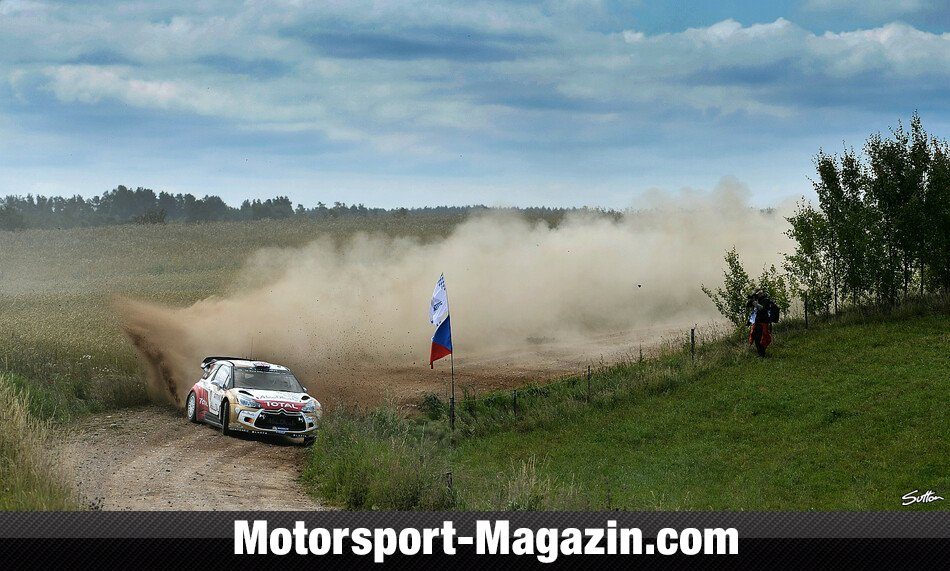WRC 2014, Rallye Polen, Mikolajki, Kris Meeke, Citroen World Rally Team, Bild: Sutton