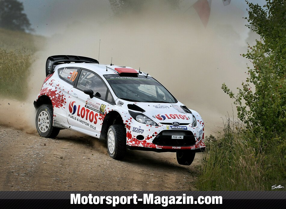 WRC 2014, Rallye Polen, Mikolajki, Robert Kubica, RK M-Sport World Rally Team, Bild: Sutton