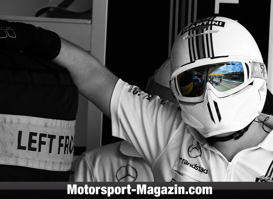 Formel 1 2014, Ungarn GP, Budapest, Williams, Bild: Sutton