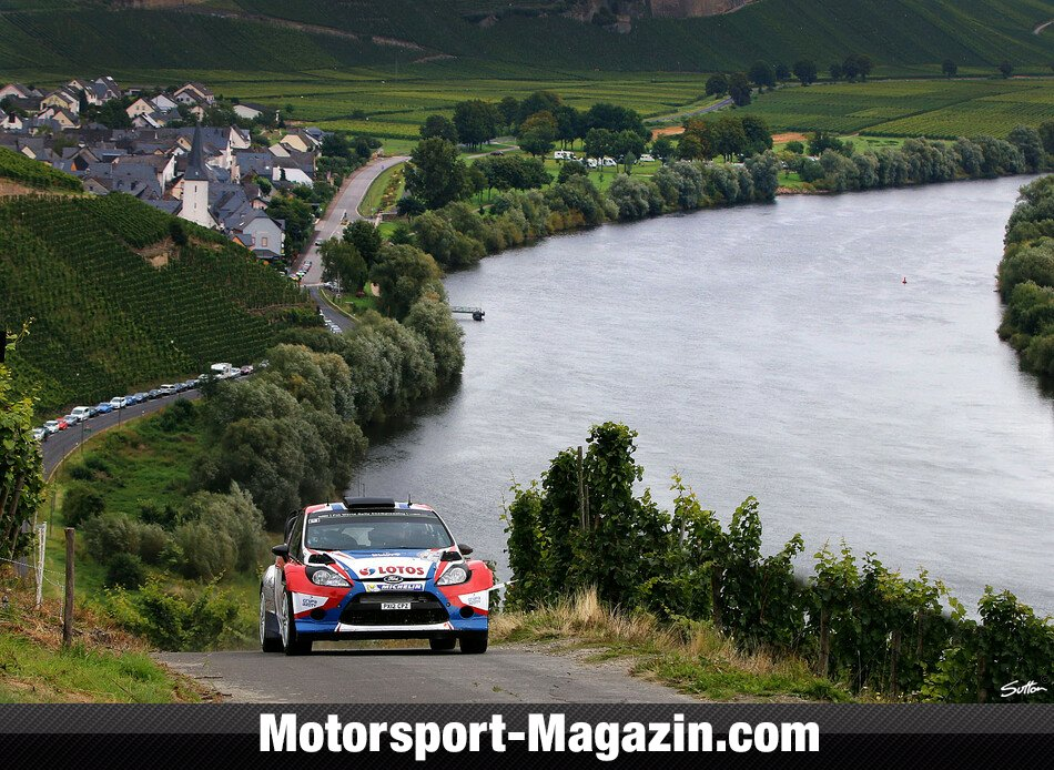 WRC 2014, Rallye Deutschland, Trier, Robert Kubica, RK M-Sport World Rally Team, Bild: Sutton