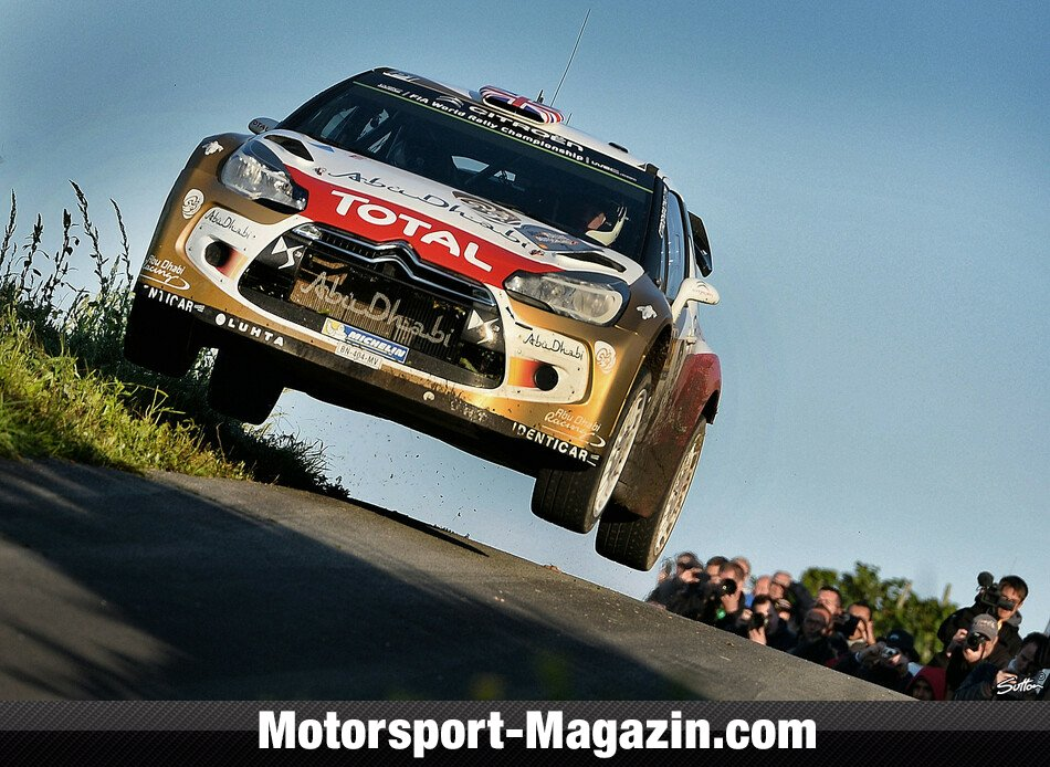 WRC 2014, Rallye Deutschland, Trier, Kris Meeke, Citroen World Rally Team, Bild: Sutton
