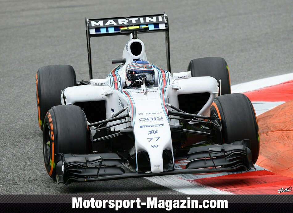 Formel 1 2014, Italien GP, Monza, Valtteri Bottas, Williams, Bild: Sutton