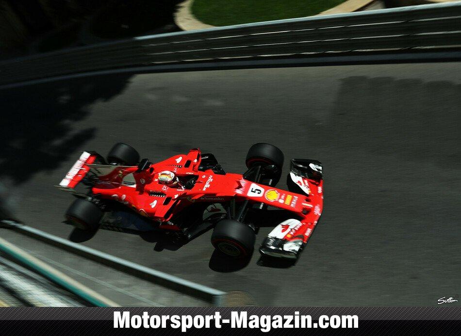 Formel 1: Hamilton rast in Baku auf Pole
