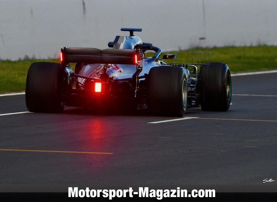 Neue Lichter Heckflügel Testet 1Mercedes Formel zMGpSUqV