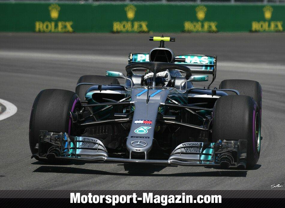 Formel 1 2018, Kanada GP, Montreal, Valtteri Bottas, Mercedes-AMG, Bild: Sutton